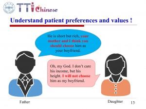 患者意愿和价值观